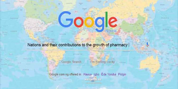 Nations and Their Contributions to the Growth of Pharmacy