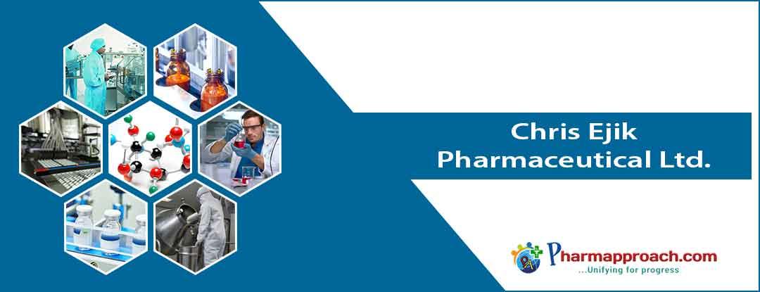 Pharmaceutical companies in Nigeria: Chris Ejik Pharmaceutical Ltd