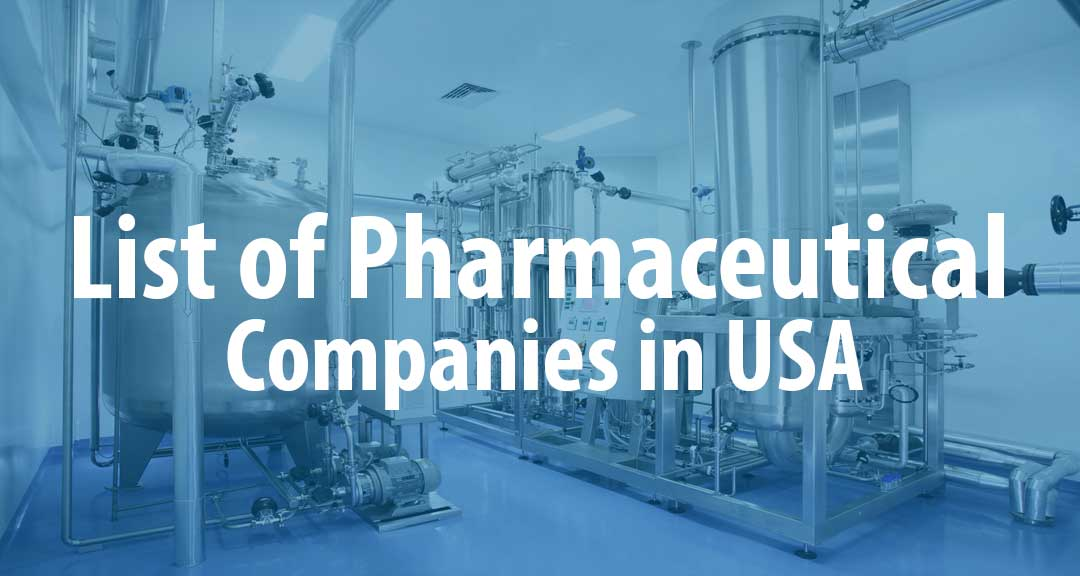 List of Pharmaceutical Companies in United States of America