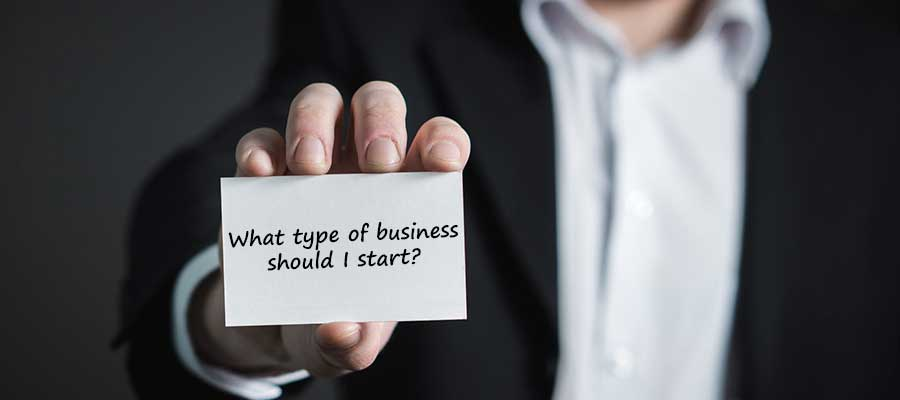Estimating the Financial Needs of a Business: which type of business should I start?
