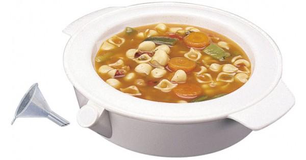 assiette chauffante pour eviter le refroidissement du repas