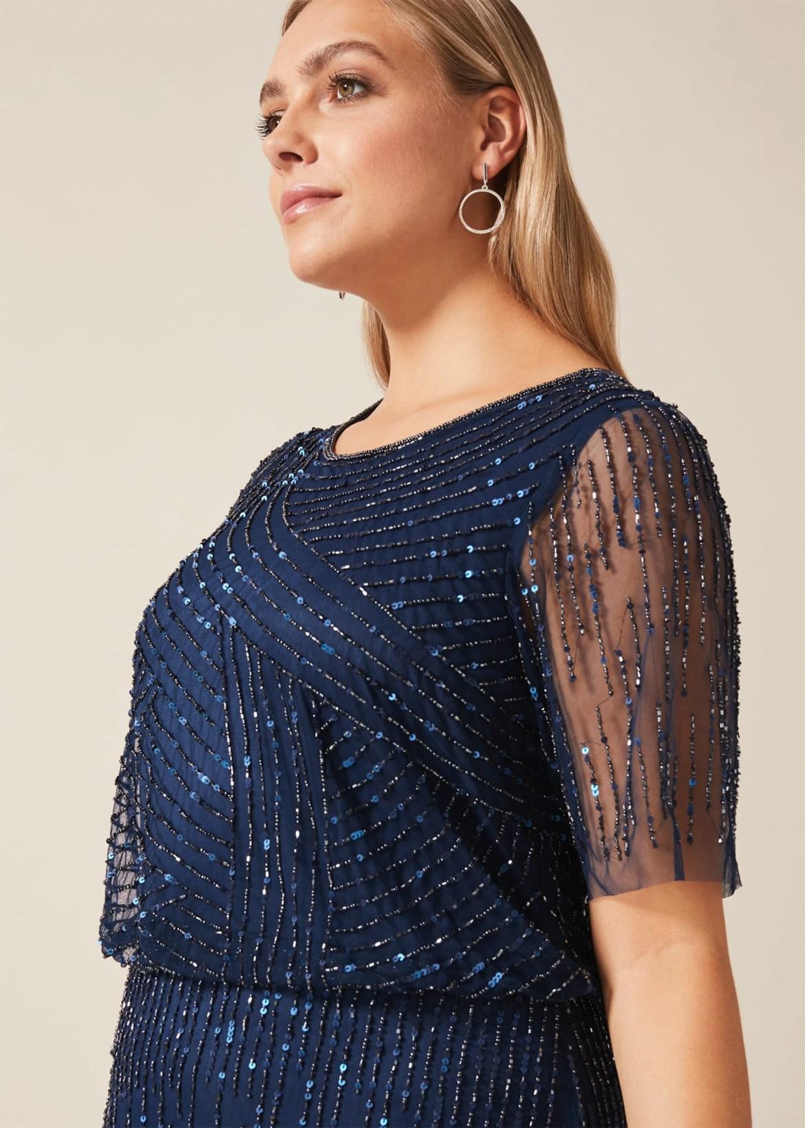 Evadine Beaded Maxi Dress