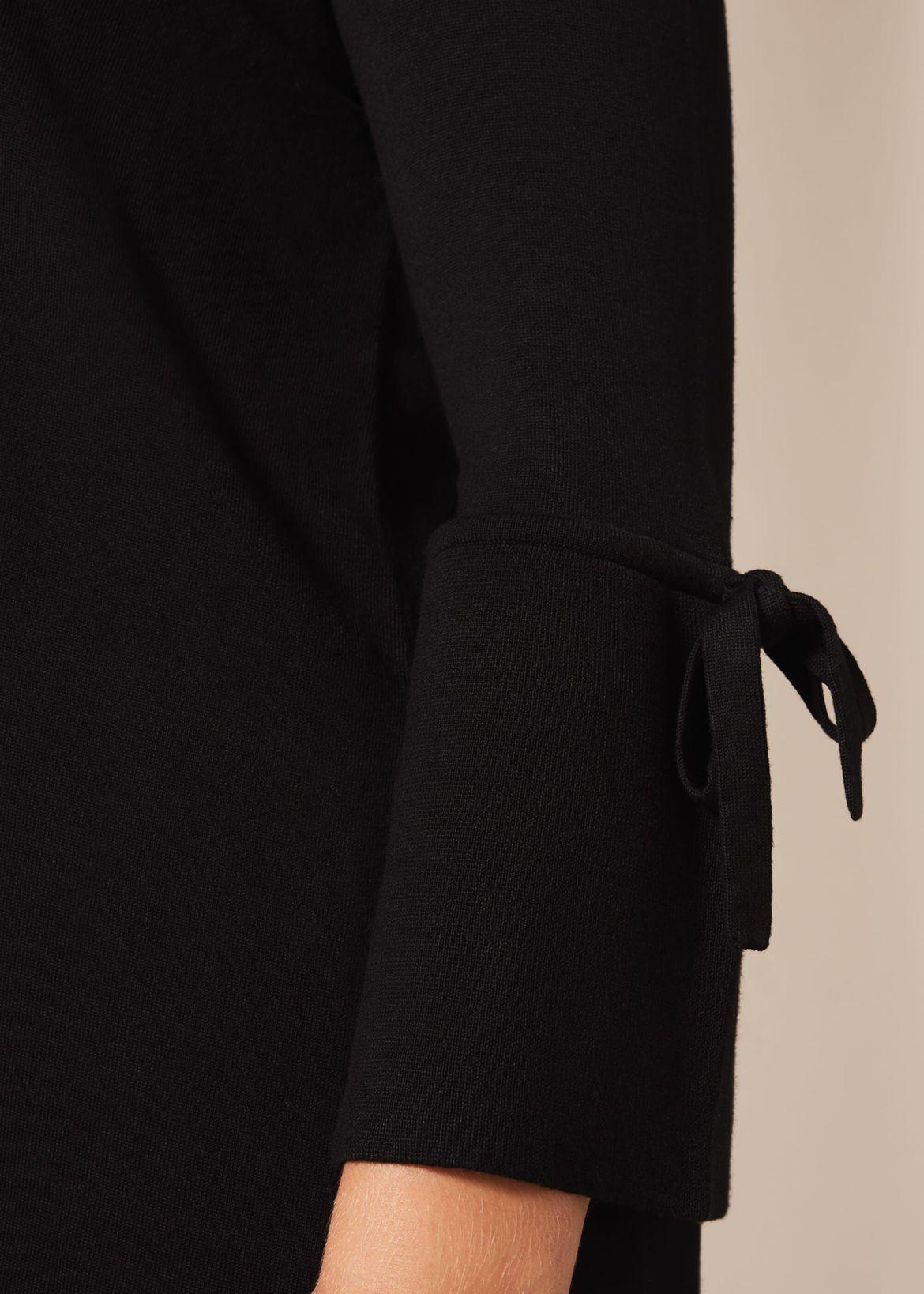 Bryony Tie Sleeve Knit Top