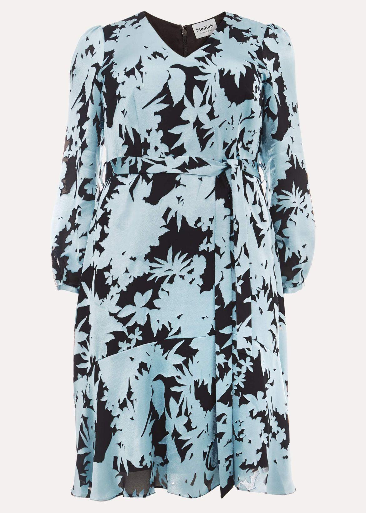 Mina Burnout Dress