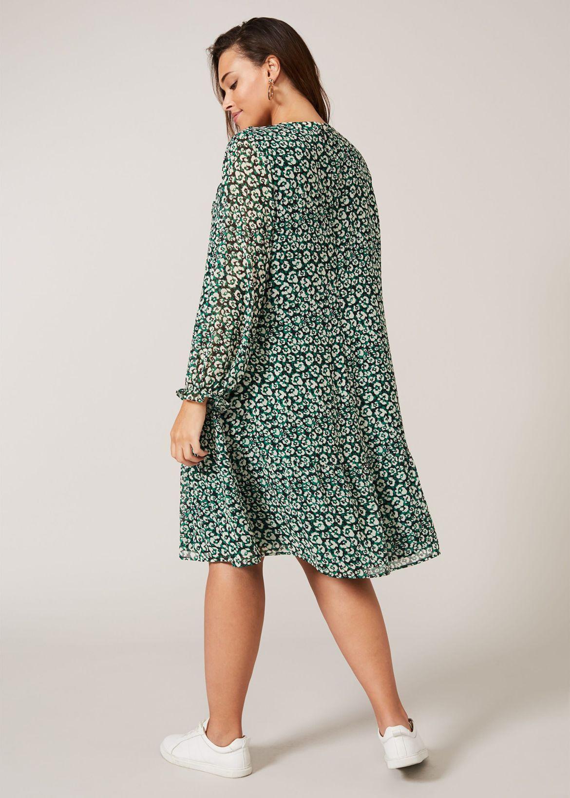 Sawyer Leopard Swing Dress