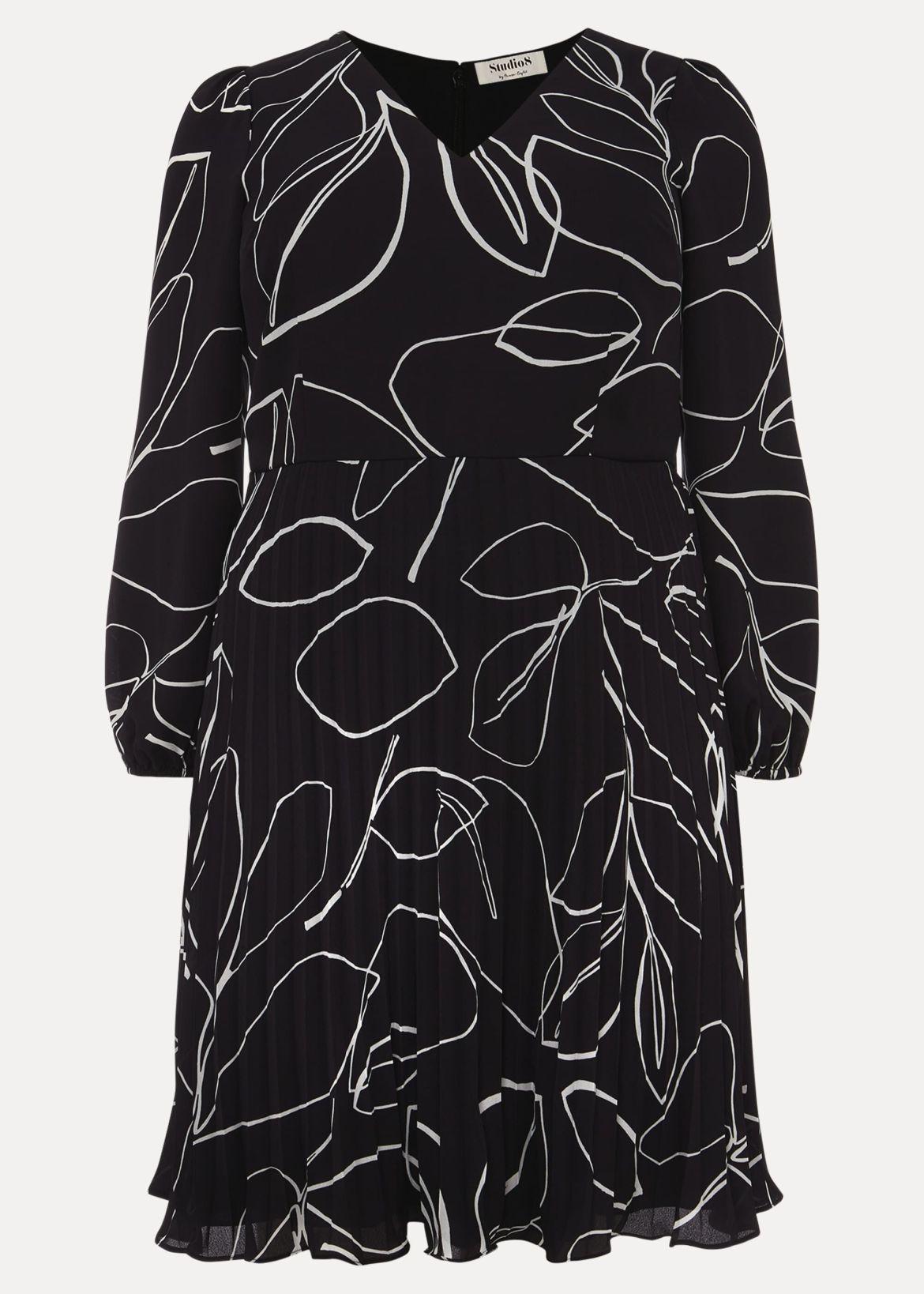 Hetty Pleated Dress