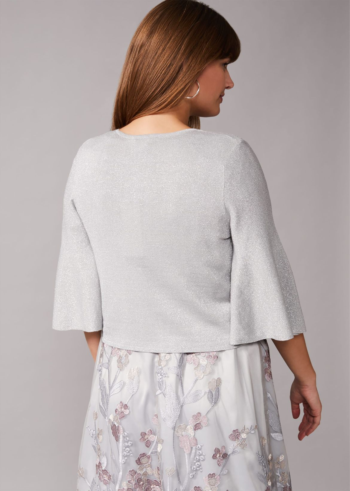 Tonie Shimmer Knitted Cover Up