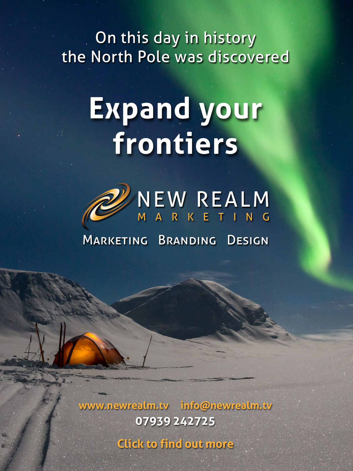 New Realm North Pole advert