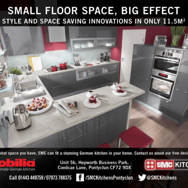 SMC Kitchens small space advert