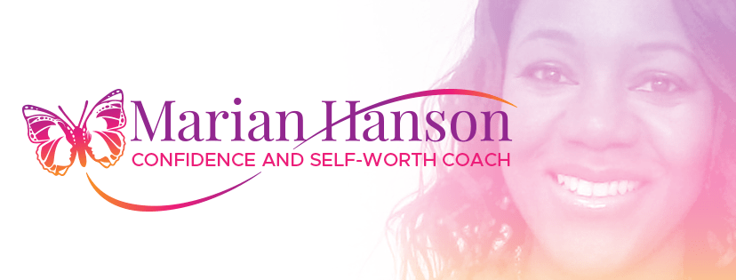 Facebook logo for Marian Hanson, confidence coach.