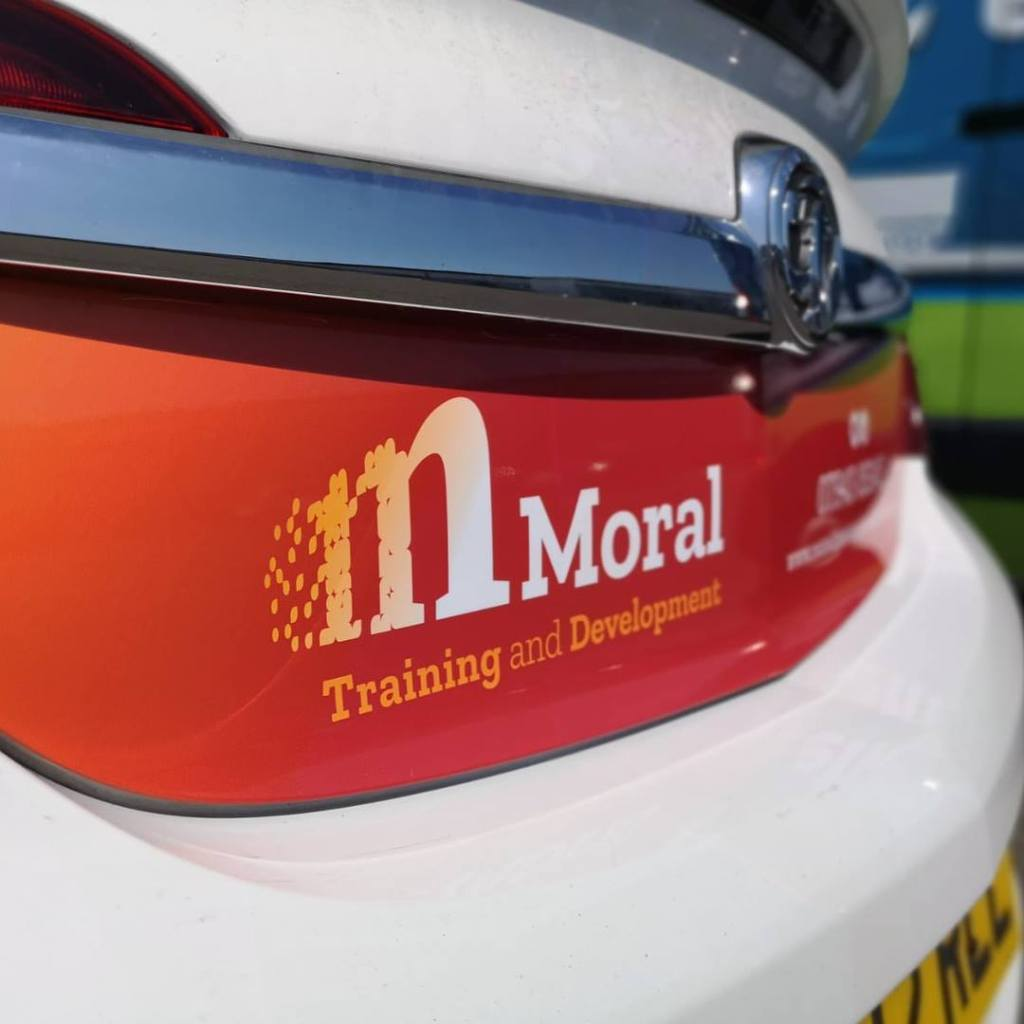 Moral Training car graphics