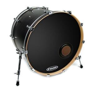 EVANS BD20REMAD REMAD Resonant Bass Drum Head, 20 Inch