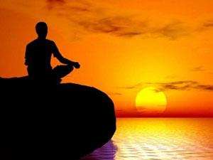 Meditation_sunset
