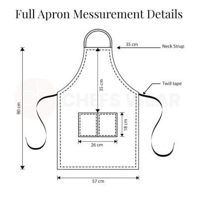 Apron Measurement Chart