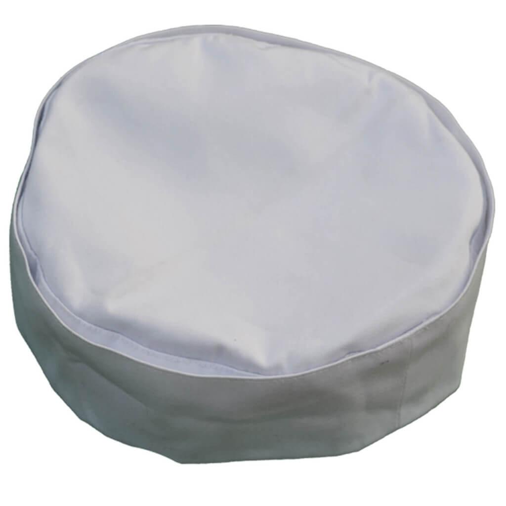 Round Hat Whait