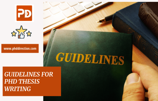 Research Guidelines for PhD Thesis Writing Service