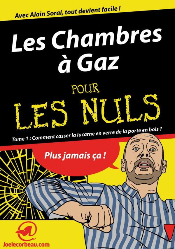 caricature négationniste de joe Lecorbeau