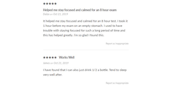 Nerv Plus Liquid Zen reviews