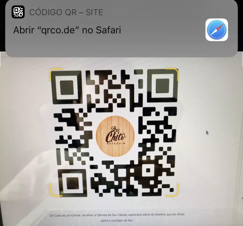 Leitor QR Code