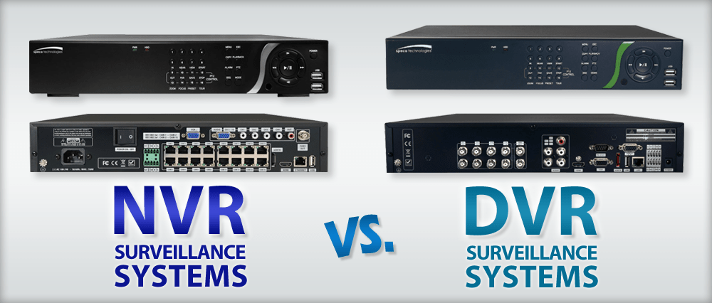 NVR vs DVR Comparison - Difference Between Them? - Phenom Security