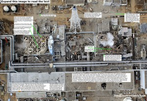 Fukushima from Above with Text by Jim Stone -- Click on Image to Enlarge