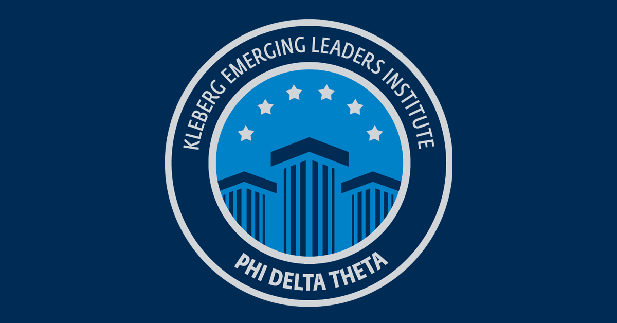 Kleberg Emerging Leaders Institute Phi Delta Theta Fraternity