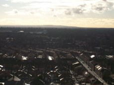 Aerial view from Longsight towards Levenshulme