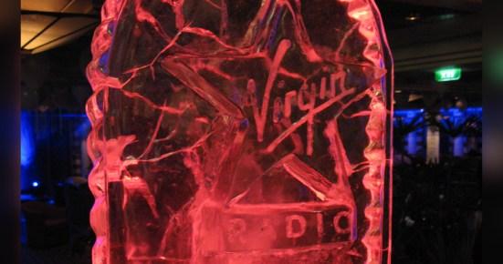 Virgin Radio in Ice by Adam Bowie