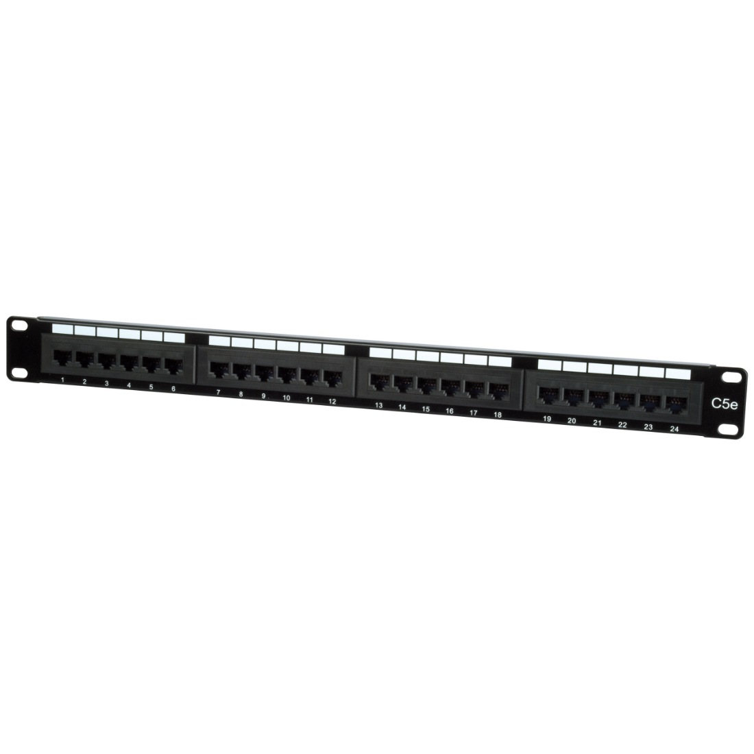 Philex 19 1u 24 Port Utp Cat5e Patch Panel