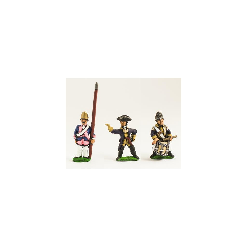 Seven Years War Prussian Command Fusilier Officer