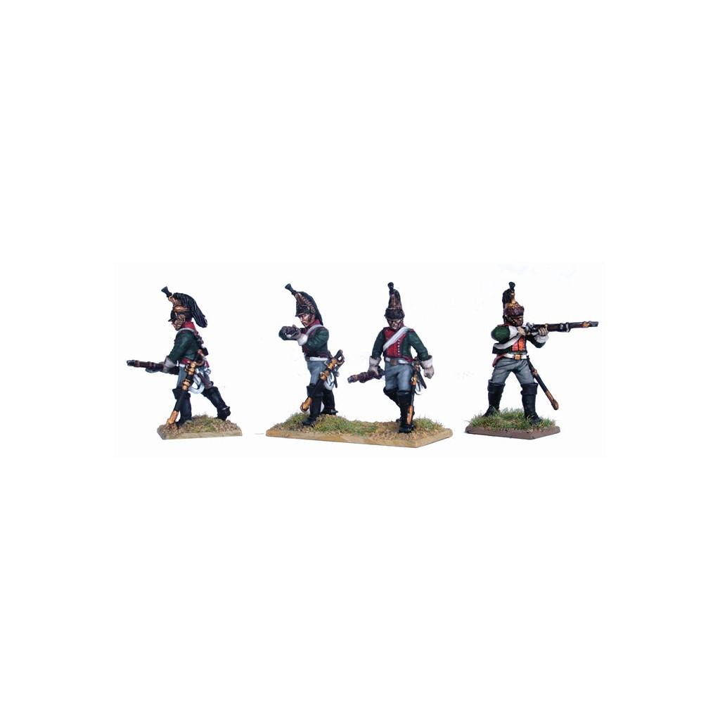 French Napoleonic Line Dragoons 13 Mounted 8 Dismounted