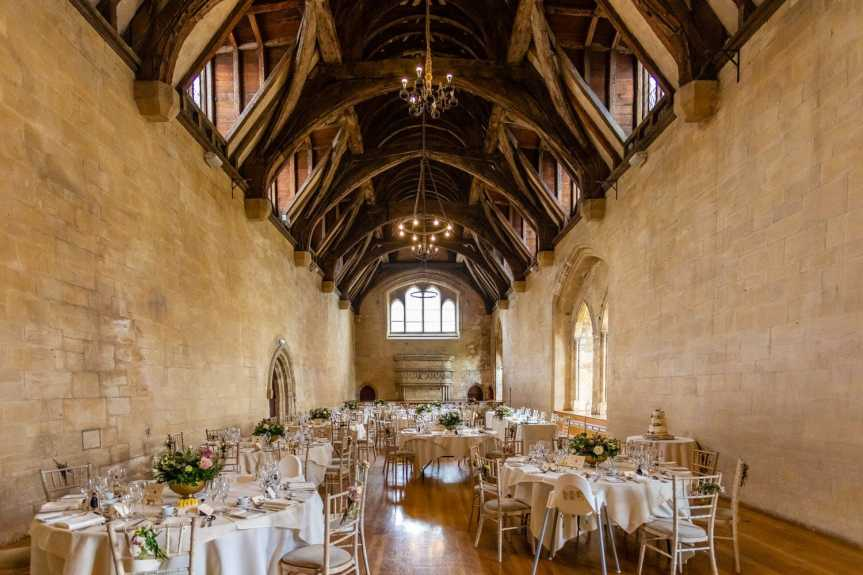 st donats castle wedding