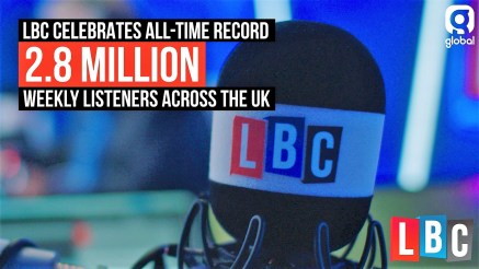 LBC - radio audience figures