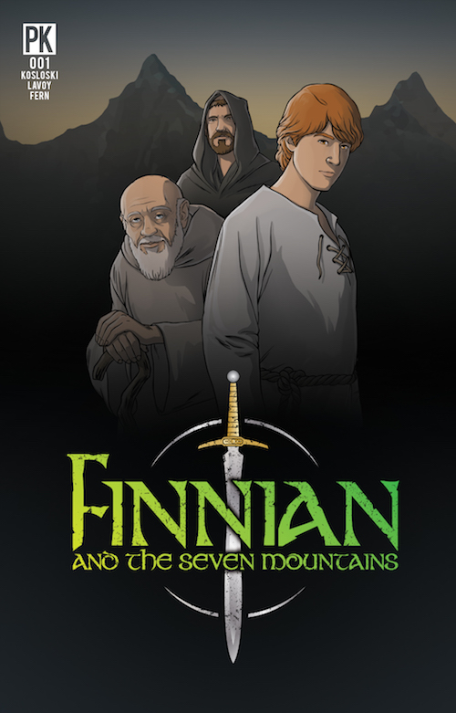 """Finnian and the Seven Mountains"" cover"