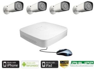 HD Videoset HDCVI Philipp-Sicherheitstechnik