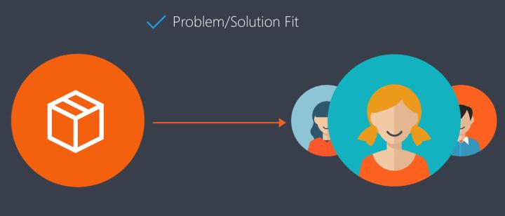 Problem/Solution Fit