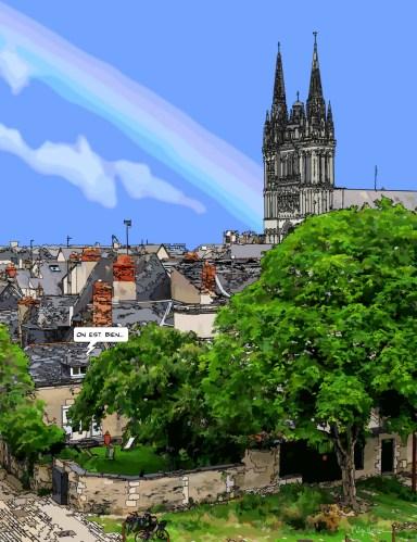 Angers // Cathédrale-- Medium 70x90 249€ // Large 100x130 429€