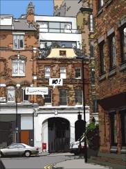 Brick street -- Medium 60x80 199€ // Large 90x120 379€
