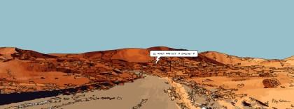 Dubai desert -- Medium 100x40 199€ // Large 160x60 399€