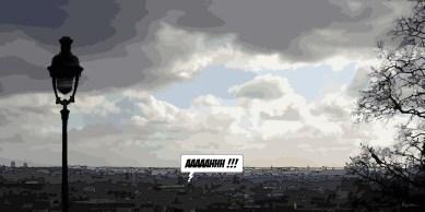 Vue de Montmartre -- Medium 100x50 229€ // Large160x80 479€ // XLarge 180x90 479€