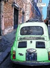 Rome Fiat -- Medium 80x110 329€ // Large 110x150 479€
