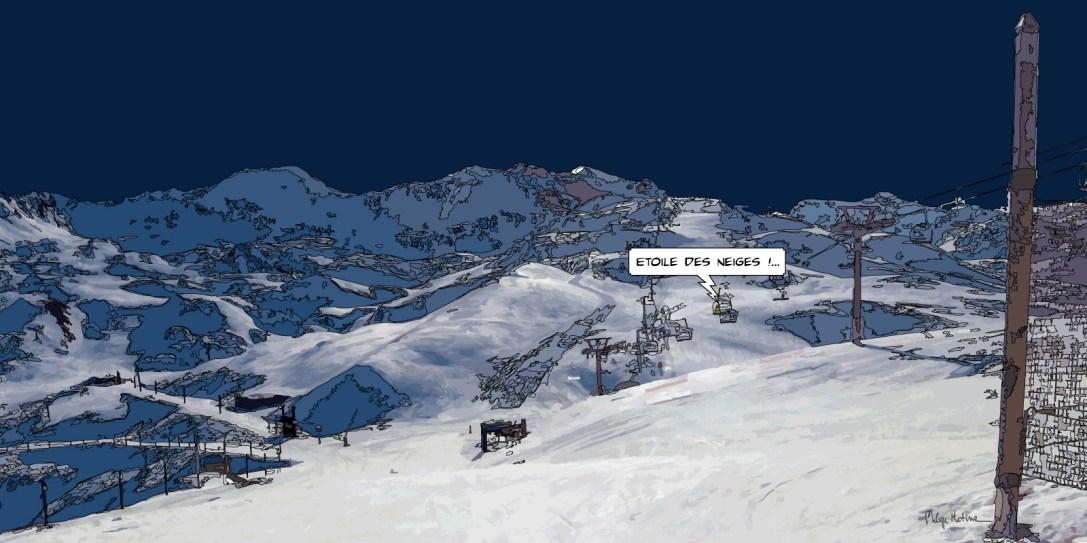 Etoile des neiges -- Medium 100x50 229€ // Large 160x80 479€ // XLarge 180x90 579€
