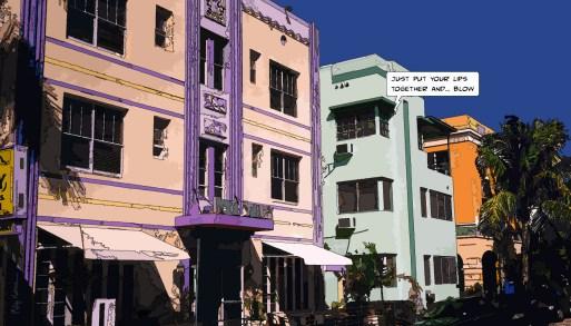 Colored street -- Medium 90x50 219€ // Large 140x80 429€
