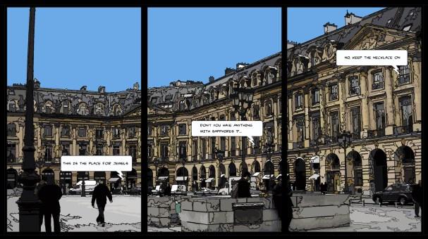 Triptyque Vendôme -- Medium 3x30x50 3x109€ // Large 3x60x100 3x219€