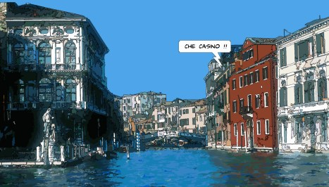 Venise Casino -- Medium 90x50 219€ // Large 140x80 429€