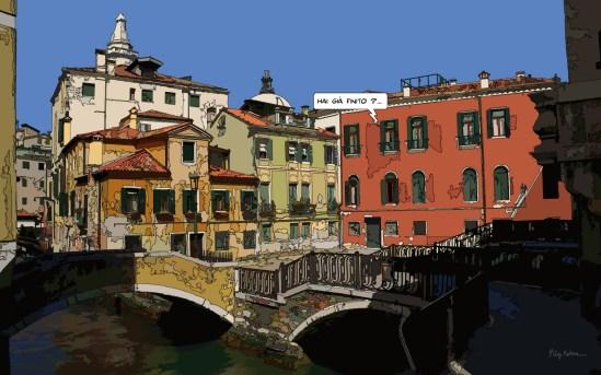 Venise Piazza -- Medium 100x60 249€ // Large 160x100 479€