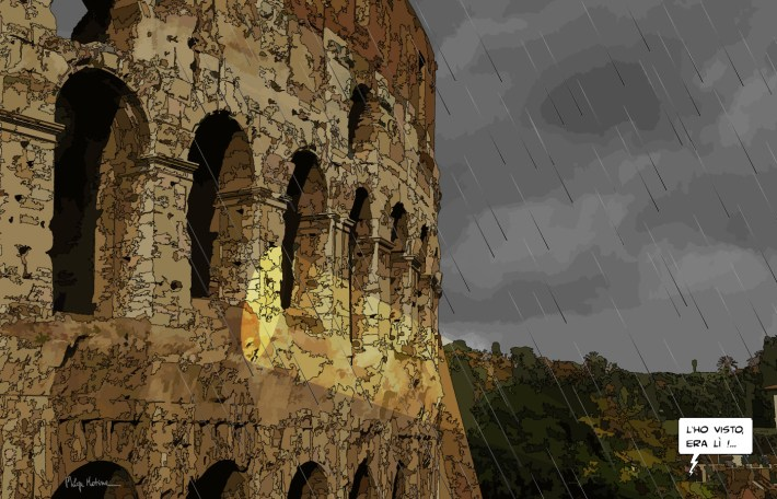 Colosseo -- Medium 90x60 229€ // Large 140x90 429€