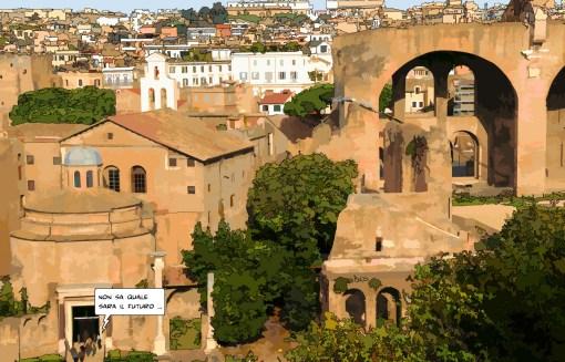 Giardino romano -- Medium 90x60 229€ // Large 140x90 429€