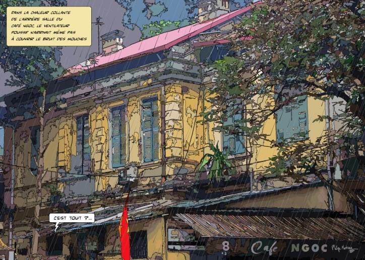 Café Ngoc -- Medium 100x70 259€ // Large 140x100 429€