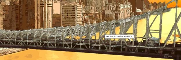 Queensboro bridge go faster -- Medium 100x40 199€ // Large 180x60 429€